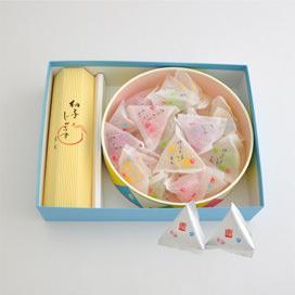 ゆうたま(18個)/和菓子職人のじゅうす詰合せ(夏季限定「土佐文旦」風味入り)