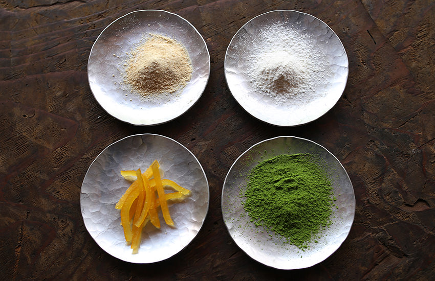 柚子と抹茶、ふたつの風味